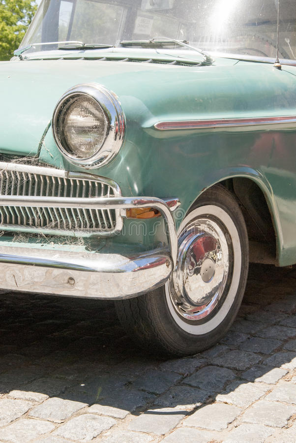Vintage - Old Style Car - Closeup Stock Photo - Image of metal ...