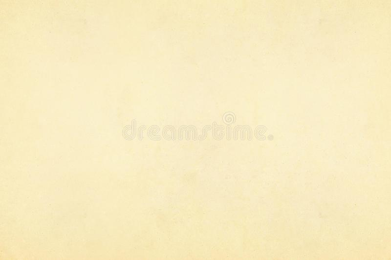 Vintage old yellow and beige paper parchment textured background royalty free stock photo