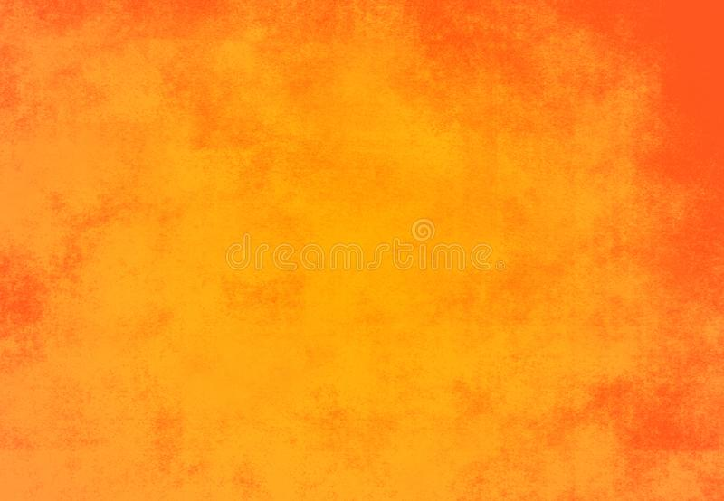 Vintage orange old cement texture background Template. Vintage orange old cement texture background Template royalty free illustration