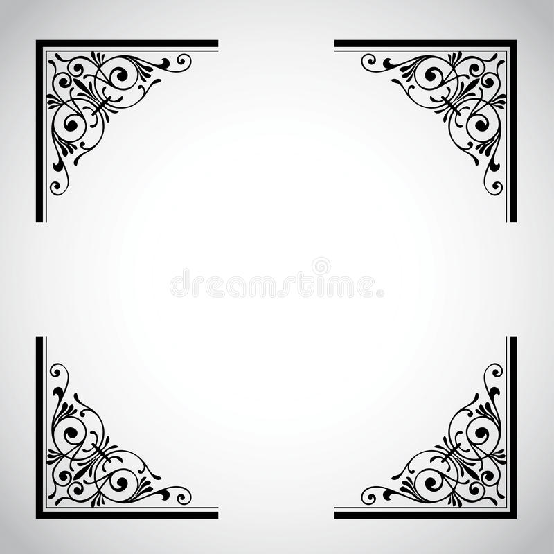 Vintage Ornamental Frame Series royalty free stock images