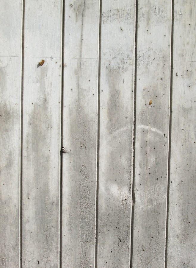 Vintage ou fundo branco sujo da madeira natural ou da textura velha de madeira como uma disposição de teste padrão retro É um con imagem de stock