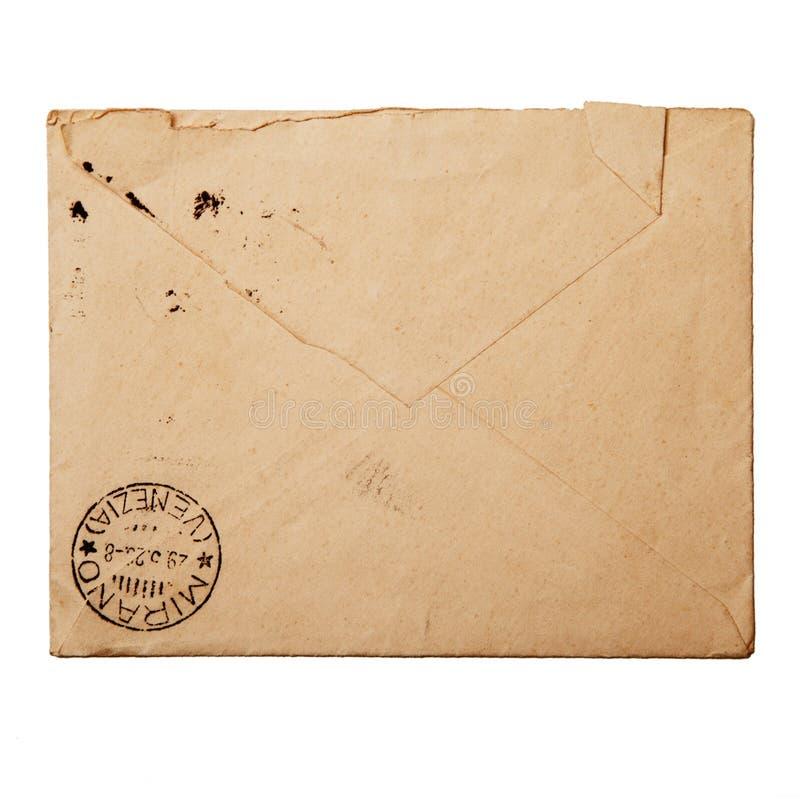 Vintage packet for correspondence. Old vintage packet for correspondence royalty free stock photos