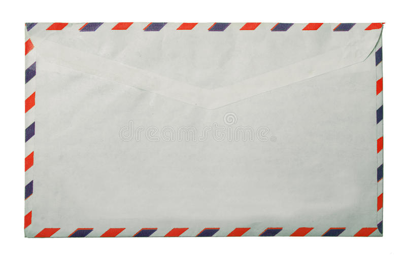 Vintage packet for correspondence. Old vintage packet for correspondence royalty free stock image