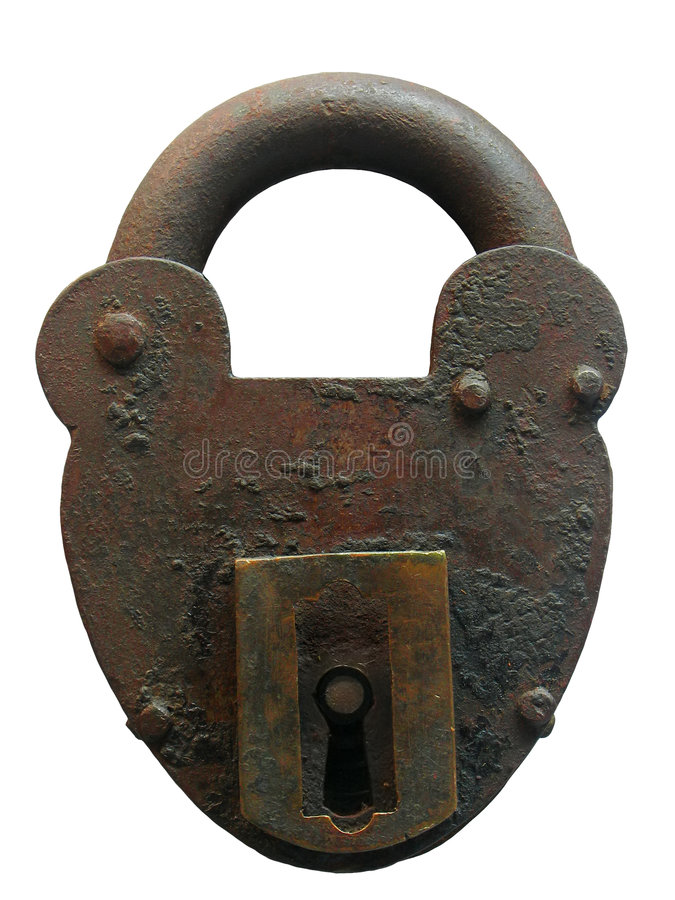 Download Vintage padlock stock photo. Image of bank, padlock, metal - 1387584