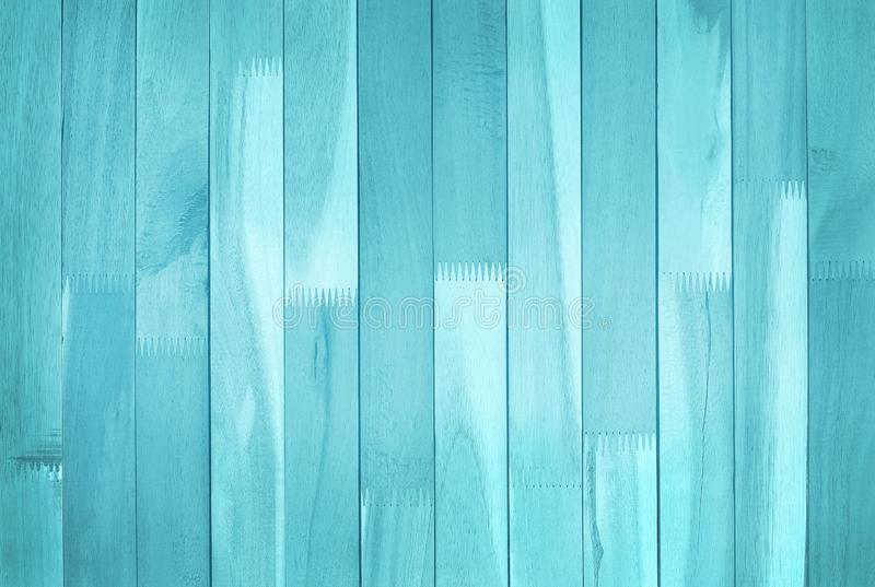 Vintage painted wooden wall background, texture of blue pastel color with natural patterns for design art work.  royalty free stock photography
