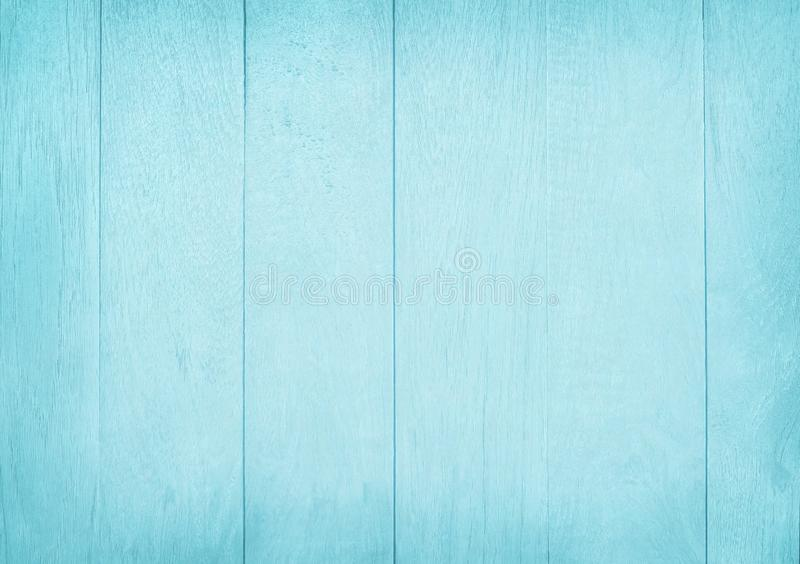 Vintage painted wooden wall background, texture of blue pastel color with natural patterns for design art work.  royalty free stock images