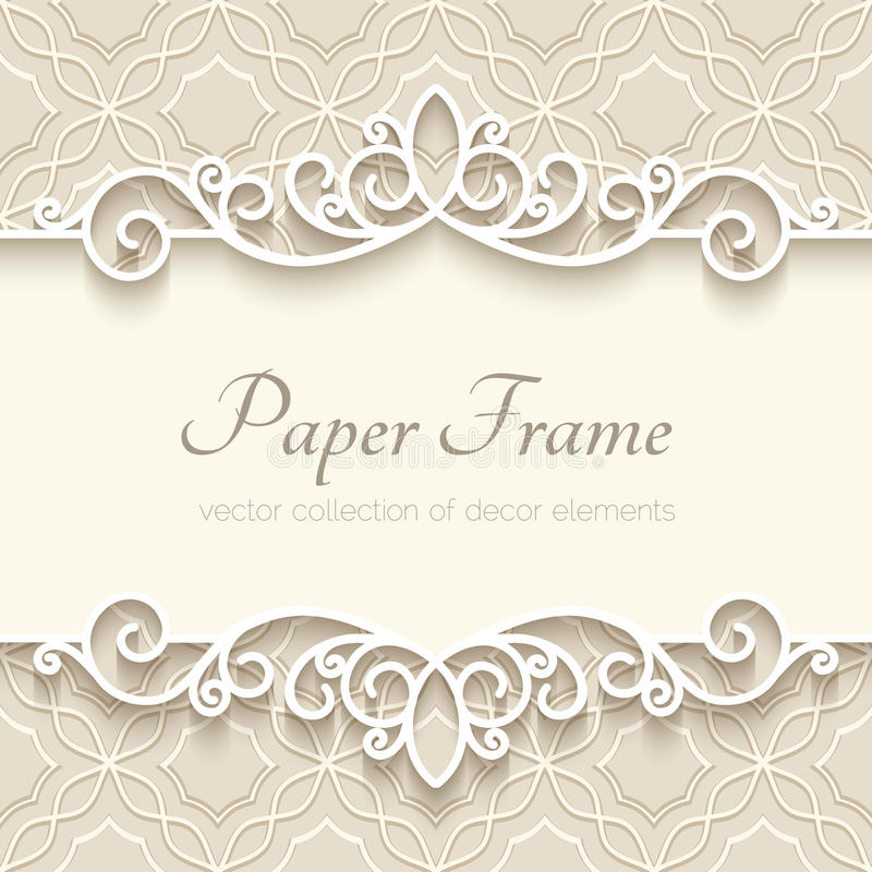 Download Vintage paper background stock vector. Image of cutout - 49652272
