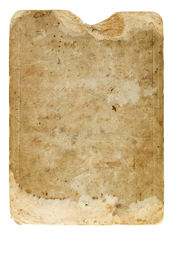 Free Vintage Paper Backside Of Retro Stock Photography - 13100682