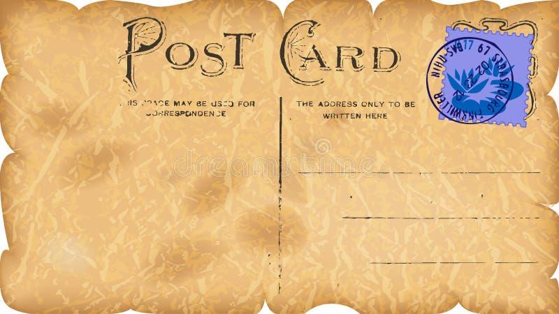 Download Vintage paper postcard stock vector. Image of artistic - 22959993
