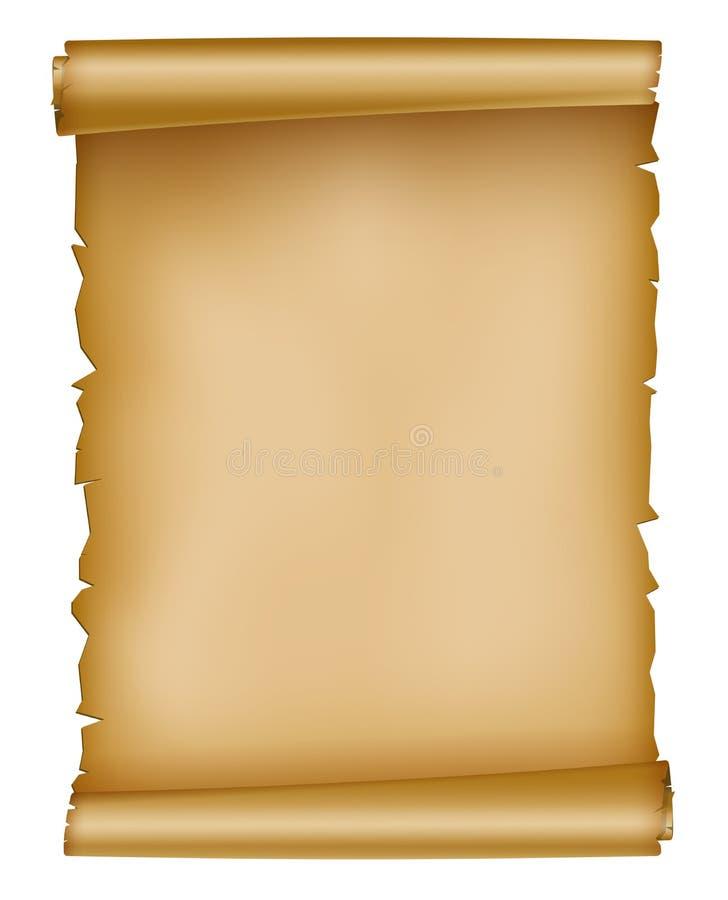 Download Vintage paper sheet stock vector. Illustration of blank - 27014324