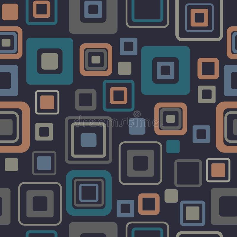 Vintage pattern -. 2d color royalty free illustration