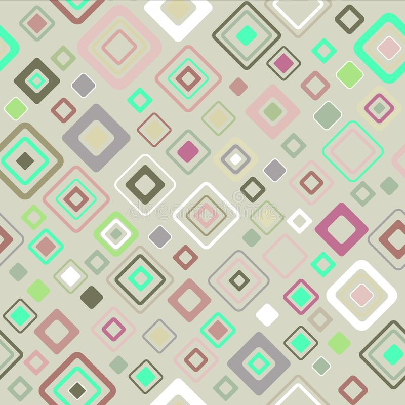 Vintage pattern fifties style - vector. Vintage pattern - 2d vector, style of the fifties vector illustration