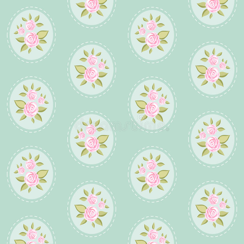 Vintage pattern 8 royalty free illustration