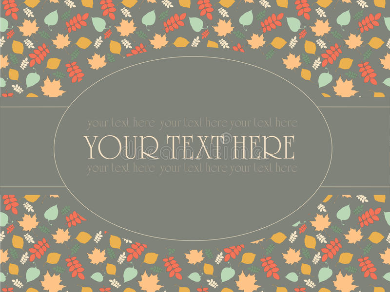 Download Vintage Pattern For Invitation And Cards Stock Images - Image: 35051134