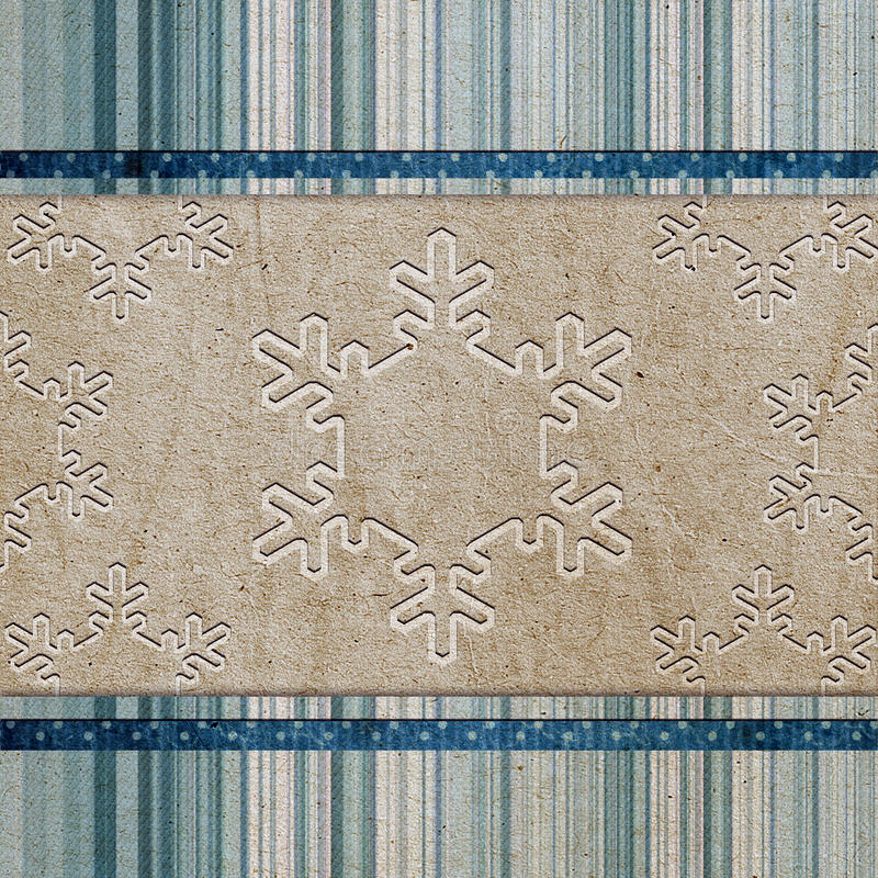 Download Vintage Pattern With Snowflake Stock Photo - Image: 22559450