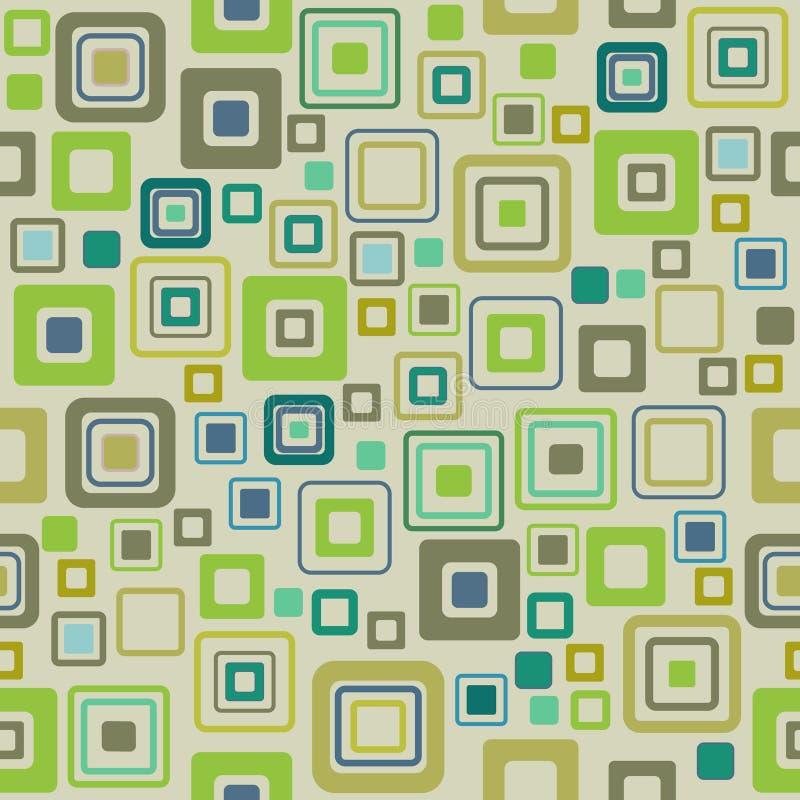 Vintage pattern - vector. 2d background royalty free illustration