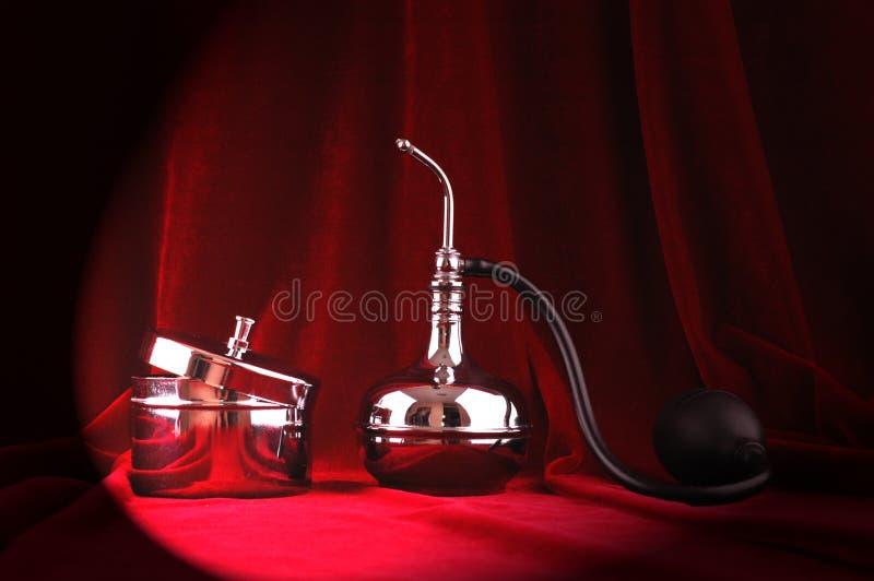 Download Vintage perfume brass set stock photo. Image of vintage - 29360790