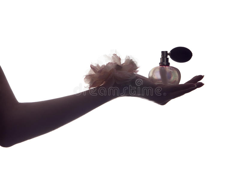 Vintage perfume scent stock images