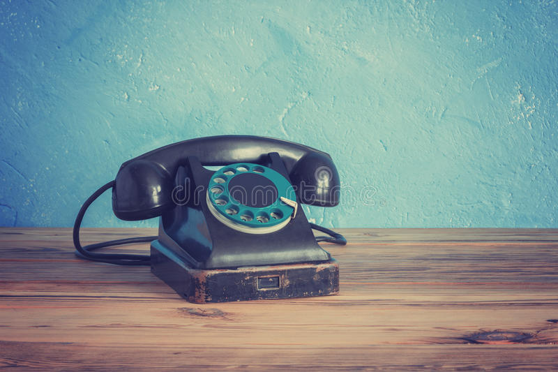 Vintage phone stock images