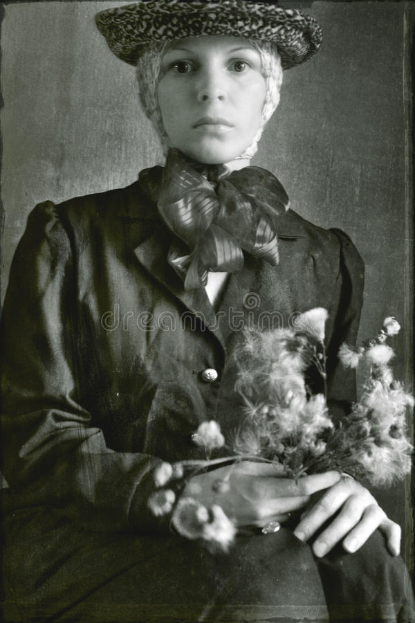 Download Vintage photo stock photo. Image of genealogy, photograph - 20951504