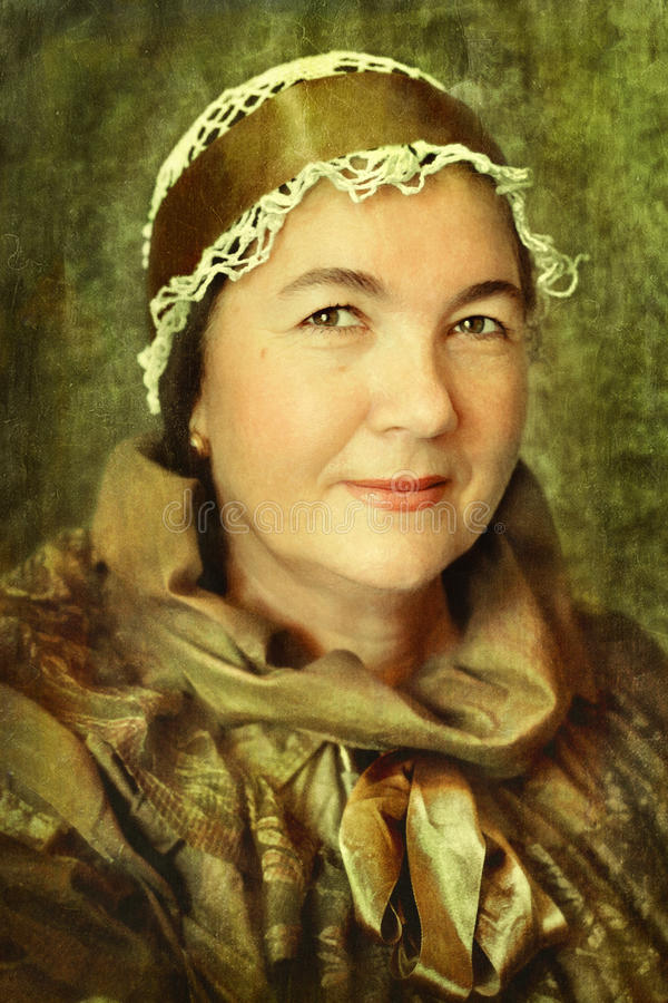 Download Vintage photo stock photo. Image of lady, face, beauty - 21050418