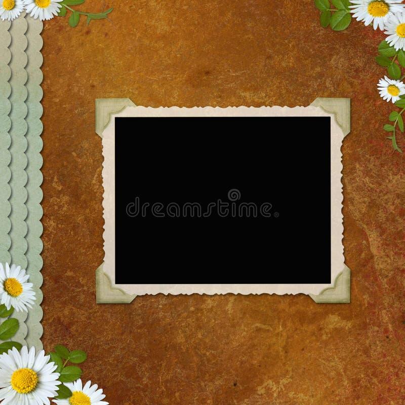 Download Vintage Photo Album stock illustration. Image of announcement - 14191166