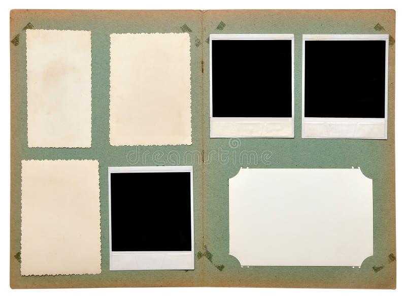 Download Vintage photo album stock image. Image of corners, notes - 16134407