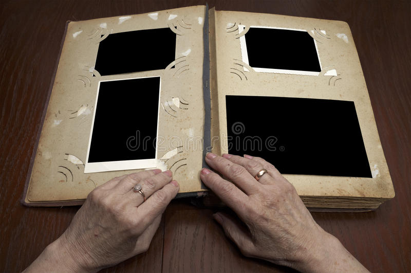 Download Vintage photo album stock image. Image of past, material - 16868997