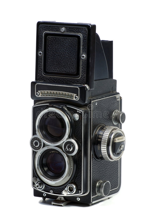Download Vintage Photo camera stock image. Image of lens, focus - 7774135