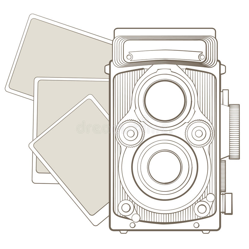 Free Vintage Photo Camera With Vignette Stock Photo - 29093280