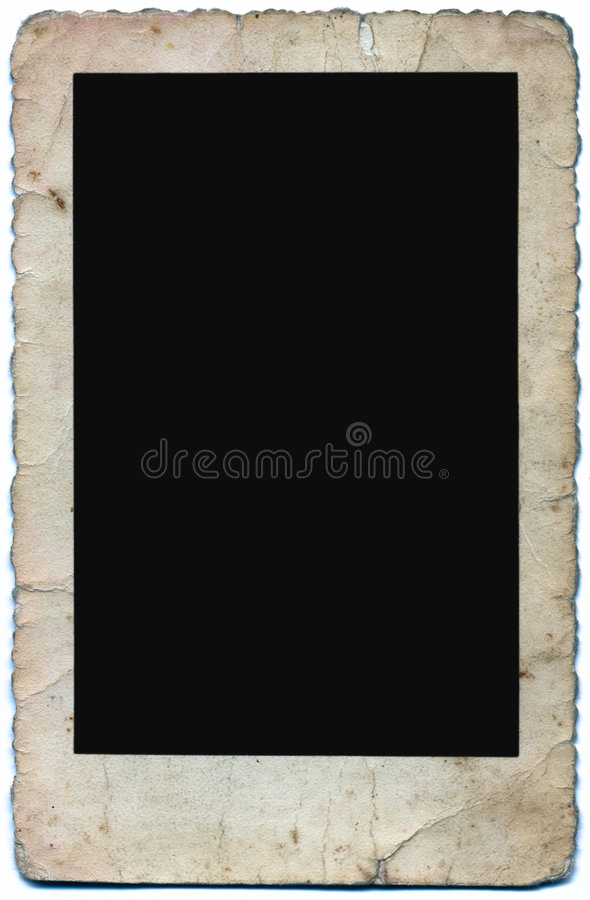 Download Vintage Photo Frame stock photo. Image of edge, textured - 1833034