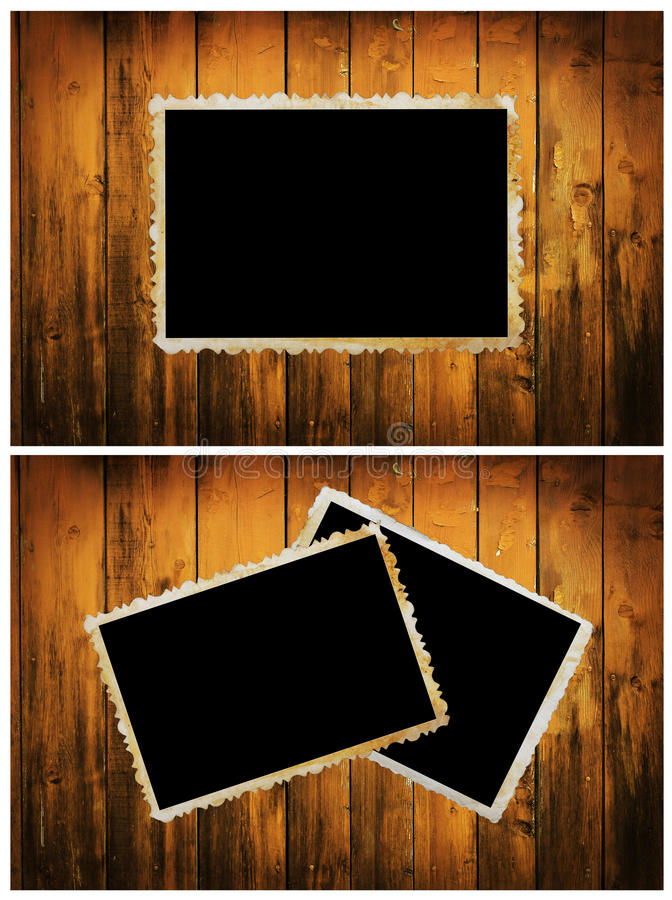 Vintage photo frame stock photography