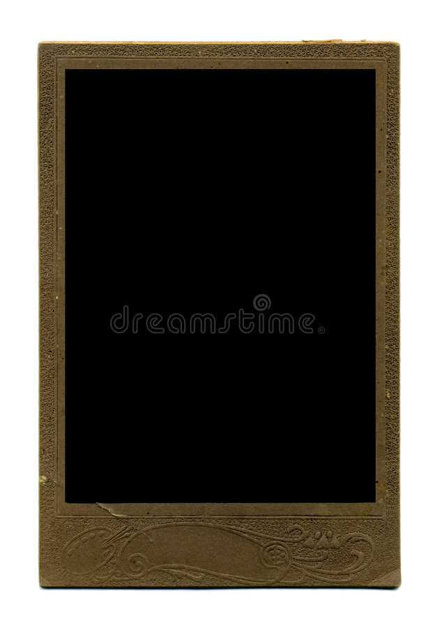 Download Vintage photo frame stock photo. Image of photograph, aged - 5282642