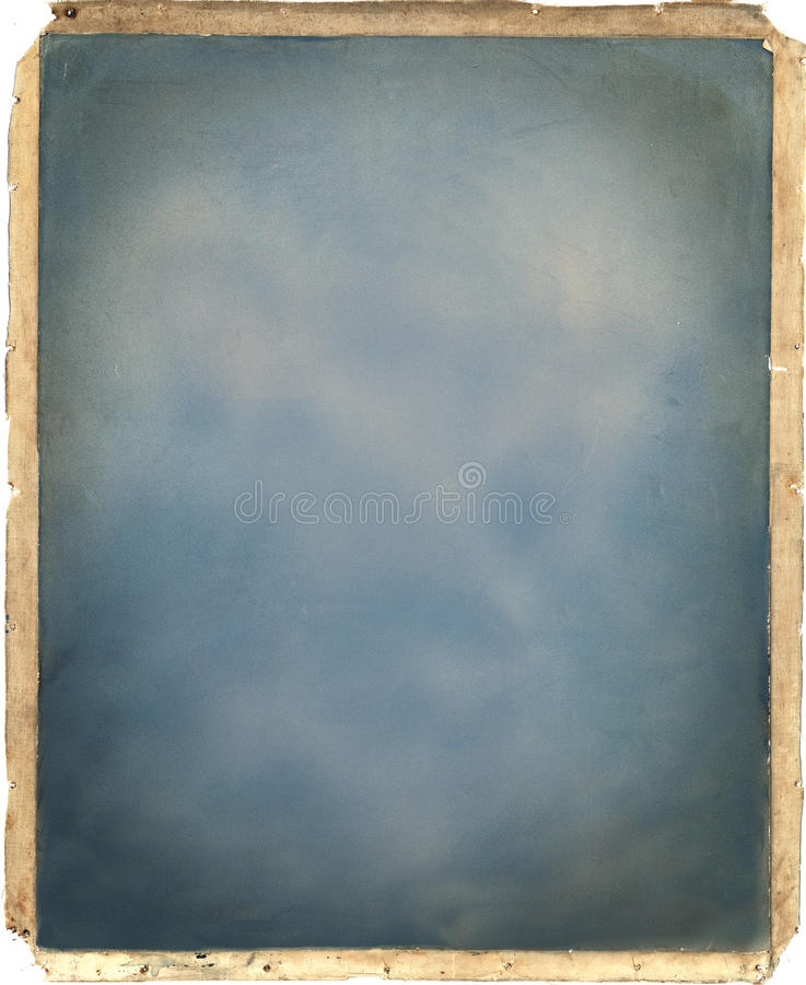 Free Vintage Photo Frame Canvas Texture Stock Photography - 22672552