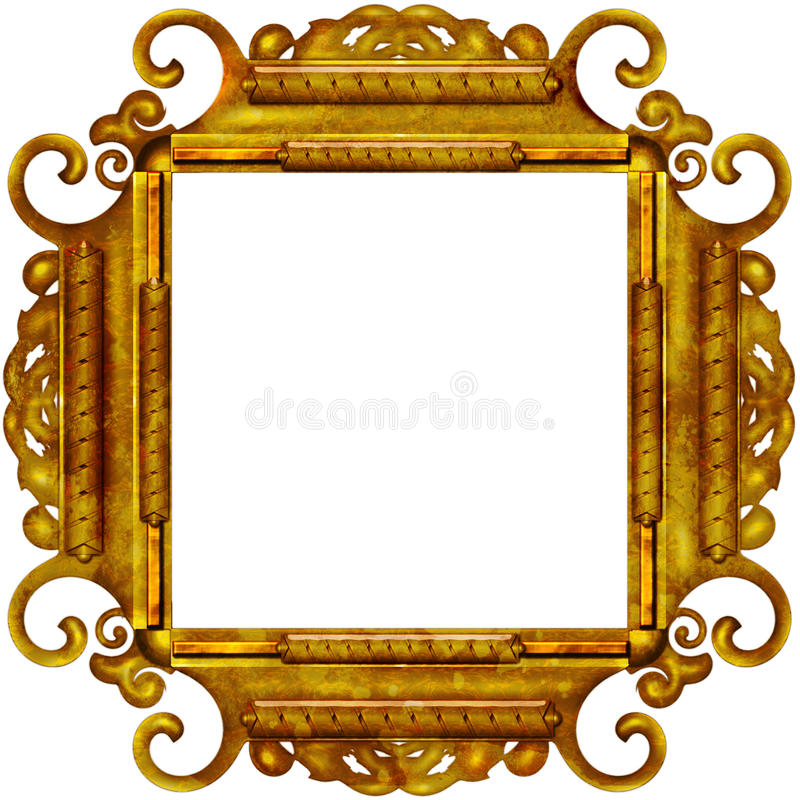Free Vintage Photo Frame With Classy Patterns Royalty Free Stock Photos - 15417848