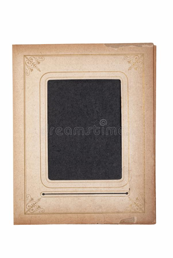 Vintage Photo Frame for you copy-clipping path royalty free stock images