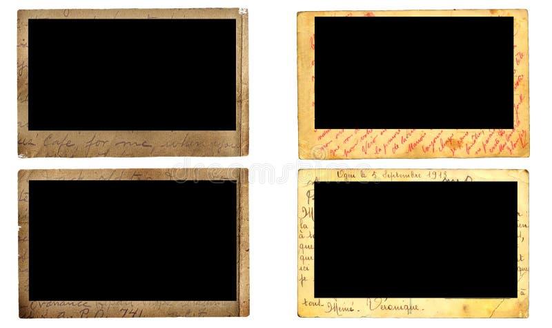 Download Vintage photo frames stock photo. Image of burn, portrait - 5351890