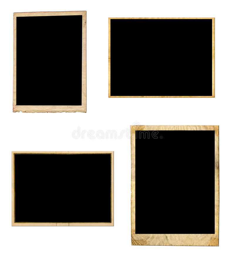 Download Vintage photo frames stock image. Image of book, page - 5528987