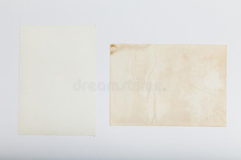 Vintage photo memory, family picture background, template royalty free stock photography