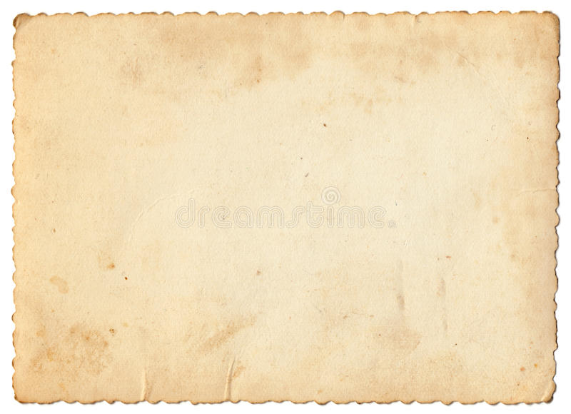Vintage photo paper royalty free stock photography