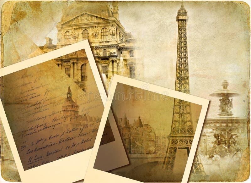Vintage photoalbum vector illustration