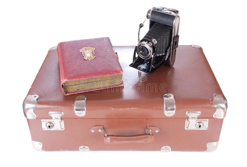 Download Vintage Photography Camera With Old Photoalbum Stock Image - Image: 30739007