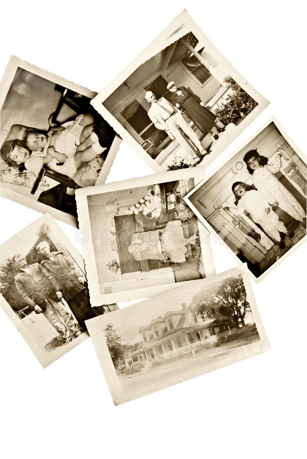 Vintage Photos royalty free stock photo
