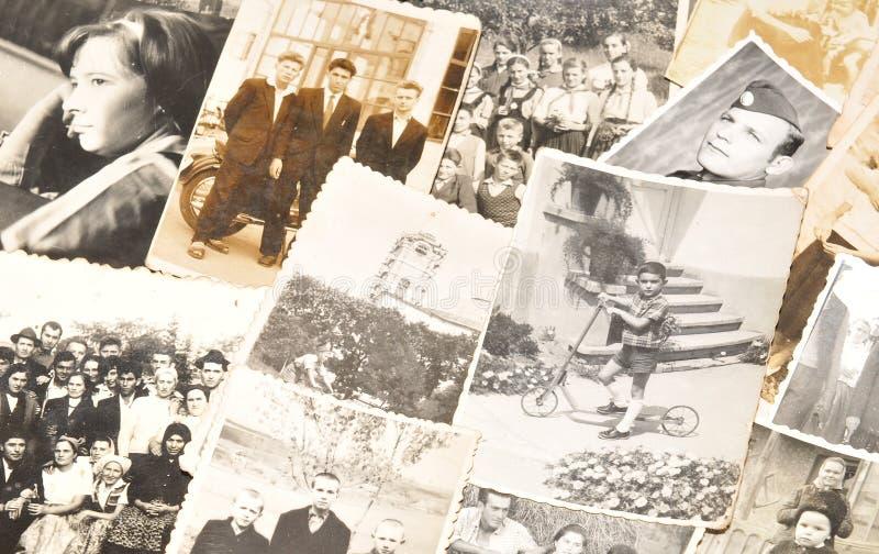 Vintage photos royalty free stock photos