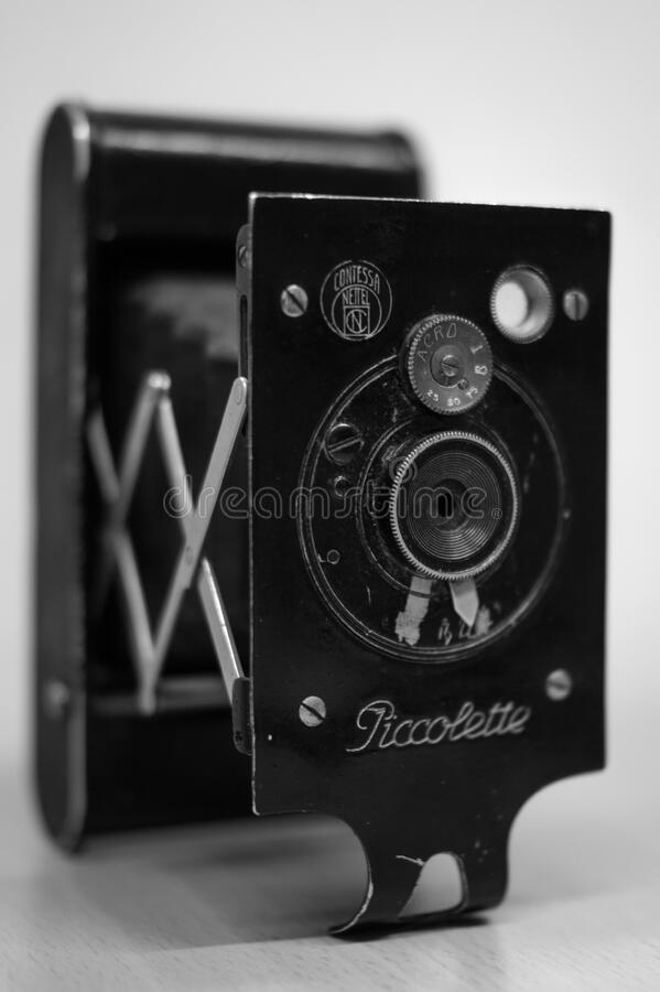 Vintage Piccolette camera stock images