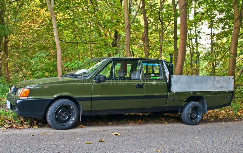 Vintage pick up Polonez royalty free stock image