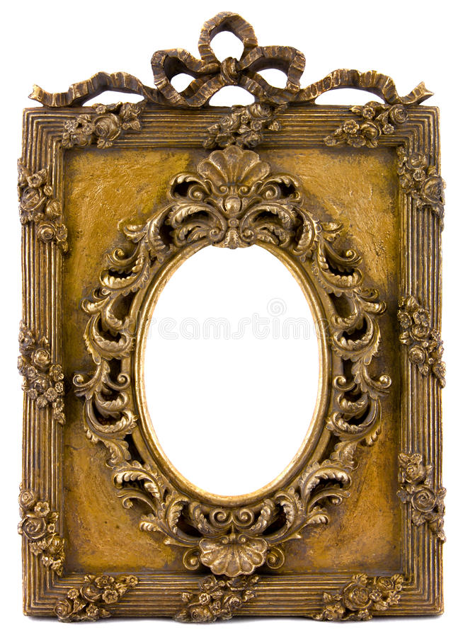 Vintage picture frame royalty free stock photography