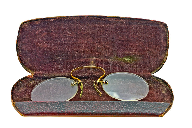 Download Vintage pince nez stock photo. Image of isolate, path - 7760068