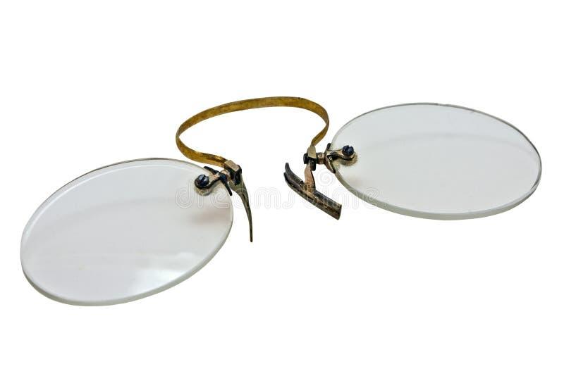 Download Vintage pince nez stock image. Image of glasses, gold - 7760071