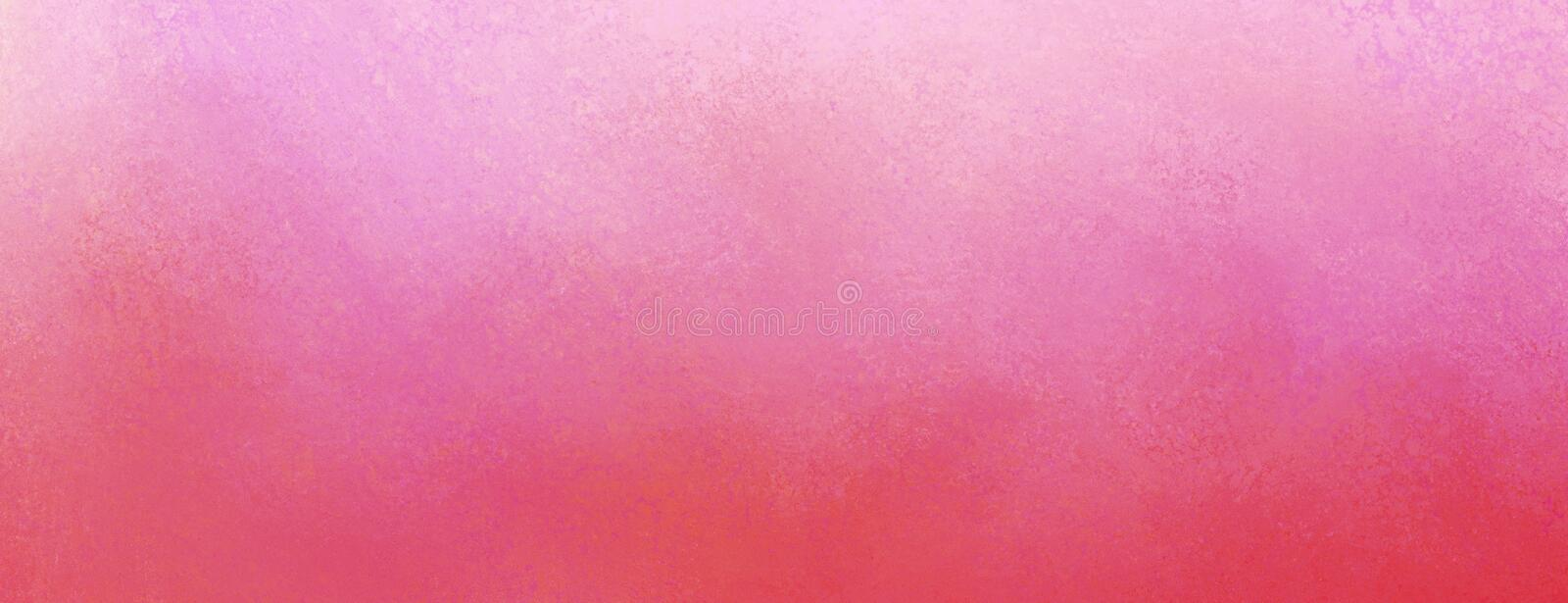 Vintage pink background with distressed purple texture and pastel border design royalty free stock images